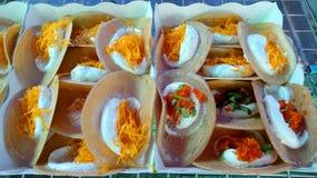 Kanom Buang Stock Image