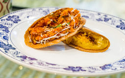 Kanom bueng, kind of Thai sweetmeat Royalty Free Stock Photo