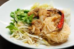 Kanom Chin Stock Photos