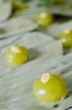 Kanom Jamongkut тайский десерт Стоковые Изображения