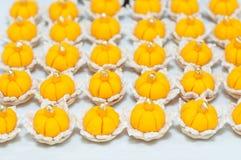 Kanom jamongkut, Thai dessert Royalty Free Stock Image