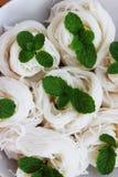 kanom Jeen лапшей Тайск-рис-муки которое все еще без соуса Стоковые Фото