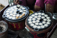 Kanom krok,Thai Coconut pudding Stock Image