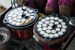 Kanom krok,Thai Coconut pudding Stock Image