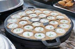 Kanom Krok, Thai dessert Stock Images