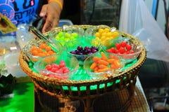 Kanom Look Choup shop Stock Photos
