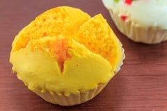Kanom Pui Fai (тайский сладостный десерт) Стоковые Фото