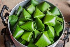 Kanom Tian, Tajlandzki deser Obrazy Stock