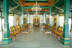 Kanoman slott Cirebon Royaltyfria Bilder