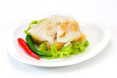 Kanomsago; Thais dessert Stock Afbeelding