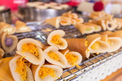 Kanomthai, τηγανίτα Στοκ Φωτογραφίες
