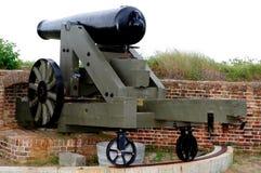 Kanon 2 van de Burgeroorlog Royalty-vrije Stock Foto