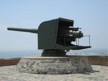 Kanon bij Kasteel stock foto's