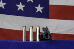 Kanon en kogels Royalty-vrije Stock Foto's