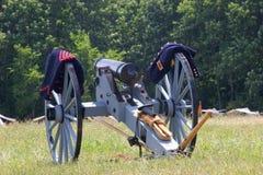 Kanon en uniformen Royalty-vrije Stock Afbeeldingen