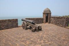 Kanon en watchtower stock afbeeldingen