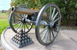 kanon gettysburg Royaltyfri Foto