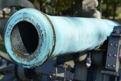 Kanon - Gettysburg parkerar den nationella militären, Pennsylvania Arkivbilder