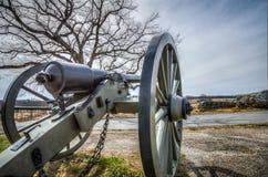 Kanon i Gettysburg, PA Royaltyfri Foto