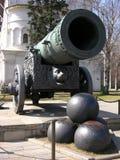 Kanon met pitten Stock Afbeelding
