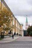 Kanon på utställning i moscow kremlin Royaltyfri Fotografi