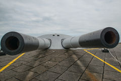 Kanon in Rio de Janeiro, Brazilië stock foto