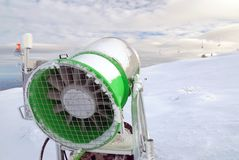 Kanon voor sneeuw Royalty-vrije Stock Foto