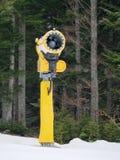 Kanonberg die kunstmatige sneeuw snowmaking Royalty-vrije Stock Foto