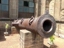 Kanone bei Bijapur Karnataka stockfotos