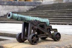 Kanone, Blenheim-Palast, Woodstock, England Lizenzfreie Stockfotos