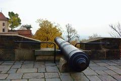 Kanone in der Festung Lizenzfreies Stockbild