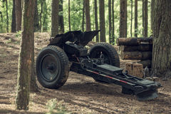 Kanone der leichten Infanterie stockfoto
