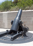 Kanone an einem alten Fort Stockfotografie