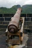 Kanone im Fort Adelaide Stockbild