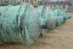 Kanone-Reihe Lizenzfreies Stockbild
