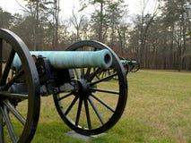 Kanonen--Chattanooga und Chickamauga-Schlachtfeld stockfoto