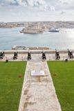 Valletta-Kanone Stockfotografie