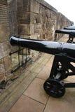Kanonen am Fort Stockfotos