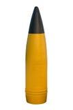 Kanonenoberteil lokalisiert auf weißem Hintergrund Stockbild