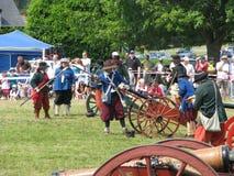 kanoner Royaltyfri Bild