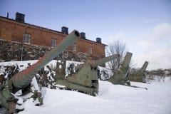 kanoner Arkivbild