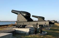 kanoner Arkivfoto