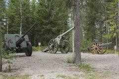kanoner Arkivfoton