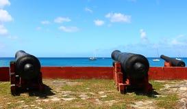 kanoner Royaltyfri Fotografi