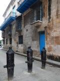 KANONER PÅ EN GATA, HAVANNACIGARR, KUBA Fotografering för Bildbyråer