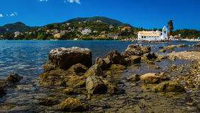 Kanoni, Corfu Royalty Free Stock Photo