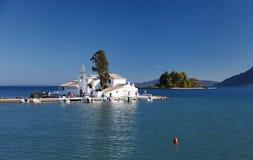Kanoni Monastery in Corfu, Greece Stock Photos
