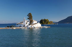 Kanoni Monastery in Corfu, Greece Stock Photography