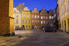Kanonia Square in the Old Town of Warsaw Royalty Free Stock Photos