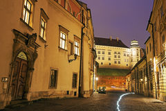 Kanonicza Street in Krakow Royalty Free Stock Photo
